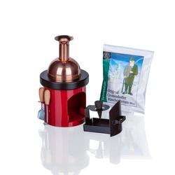 Bütic Räucherofen -Braukessel mit Ofenbesteck- Räucherkerzenhalter Räucherkerzen – Bild 2