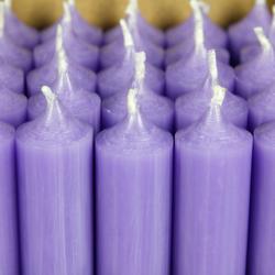 durchgefärbte Stabkerzen 180mm x 22mm - hochgereinigte Kerzen mit rückstandsfreiem Abbrand – Bild 12