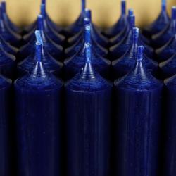 durchgefärbte Stabkerzen 180mm x 22mm - hochgereinigte Kerzen mit rückstandsfreiem Abbrand – Bild 16