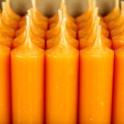 durchgefärbte Stabkerzen 180mm x 22mm - hochgereinigte Kerzen mit rückstandsfreiem Abbrand – Bild 17