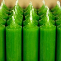 durchgefärbte Stabkerzen 180mm x 22mm - hochgereinigte Kerzen mit rückstandsfreiem Abbrand – Bild 20