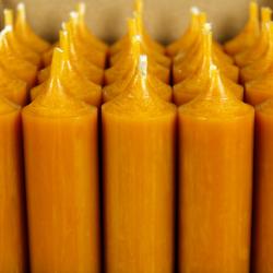 durchgefärbte Stabkerzen 180mm x 22mm - hochgereinigte Kerzen mit rückstandsfreiem Abbrand – Bild 23