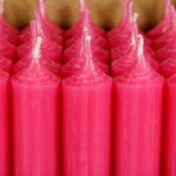 durchgefärbte Stabkerzen 180mm x 22mm - hochgereinigte Kerzen mit rückstandsfreiem Abbrand – Bild 8