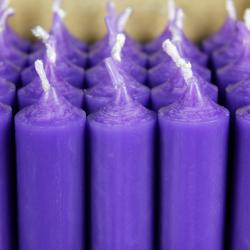 durchgefärbte Stabkerzen 250mm x 22mm - hochgereinigte Kerzen mit rückstandsfreiem Abbrand – Bild 13