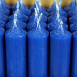 durchgefärbte Stabkerzen 250mm x 22mm - hochgereinigte Kerzen mit rückstandsfreiem Abbrand – Bild 15