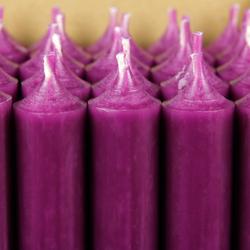 durchgefärbte Stabkerzen 250mm x 22mm - hochgereinigte Kerzen mit rückstandsfreiem Abbrand – Bild 22