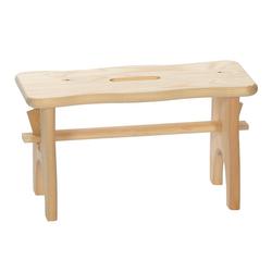 Bütic Holz-Fussbank, Tritthocker, Holzbank aus nachhaltig hergestelltem FSC-zertifiziertem Nadelholz – Bild 2