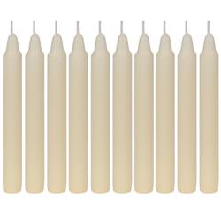 10er Pack Stabkerzen, Tafelkerzen, Stearin-Kerzen mit 21,5mm Durchmesser und 180mm Länge – Bild 1