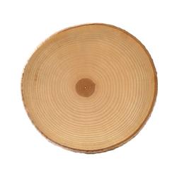 Rindenbrett lackiert rund - Rindenscheibe Baumscheibe Wurstbrett Käsebrett – Bild 6