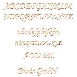 Plywood letters - MT5-20 - wish text /lettering with size selection - poplar 3mm