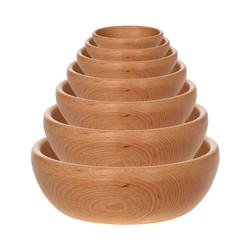 Bütic Holzschale, Obstschale, Schüssel aus FSC-zertifizierten Buchenholz – Bild 5