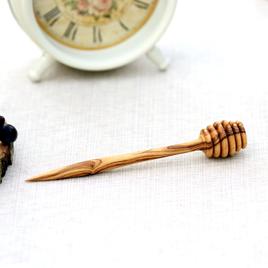 Bütic Honigheber Honiglöffel Olivenholz oder Buche FSC-zertifiziertes Holz