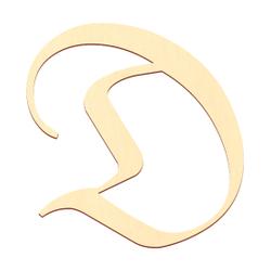 Sperrholz Buchstaben - Altdeutsch/LPZ - Wunschtext/Schriftzug mit Größenauswahl - Pappel 3mm – Bild 5