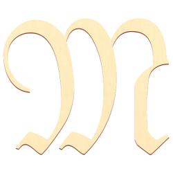 Sperrholz Buchstaben - Altdeutsch/LPZ - Wunschtext/Schriftzug mit Größenauswahl - Pappel 3mm – Bild 14