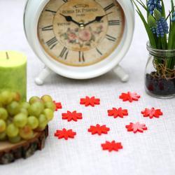 Plexiglas® Streudeko - Blume/Blüte/Margarite - Wurfdeko, Tischdeko 30mm glänzend – Bild 1