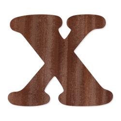 Holz-Furnier Buchstaben - Cooper - Schriftzug aus dunklem 0,6mm Echtholzfurnier - Größenauswahl – Bild 25