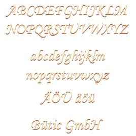 Sperrholz Buchstaben - MT25-40 - Wunschtext/Schriftzug mit Größenauswahl - Pappel 3mm