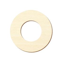 Sperrholz Zuschnitte - Loch/Ring-Scheiben, Holzscheiben, individueller Zuschnitt - Pappel 3mm
