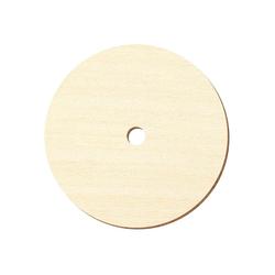 Sperrholz Zuschnitte - Loch/Ring-Scheiben, Holzscheiben, individueller Zuschnitt - Pappel 3mm – Bild 2