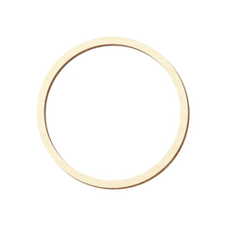 Sperrholz Zuschnitte - Loch/Ring-Scheiben, Holzscheiben, individueller Zuschnitt - Pappel 3mm – Bild 3