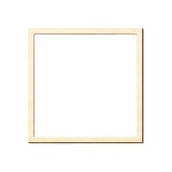 Sperrholz Zuschnitte - Quadrate mit individuellem Innenausschnitt - Pappel 3mm – Bild 3