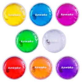 Taschenwärmer 8er Set Multicolor - Rund - Handwärmer Heizpad Wärmepad Firebag