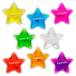 Taschenwärmer 8er Set Multicolor - Stars/Sterne - Handwärmer Heizpad Wärmepad Firebag 001