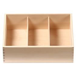 Bütic Besteckkasten für Haushalt und Gastro aus Buchen Holz - 3fach, 4fach, 5fach – Bild 3