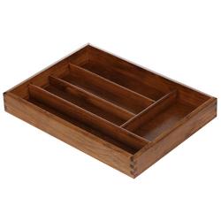 Bütic Besteckkasten für Haushalt und Gastro aus Buchen Holz - 3fach, 4fach, 5fach – Bild 7