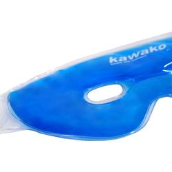 Kawako Gel Augenmaske / Migränemaske mit Komfort-Klettverschluss - Farbauswahl – Bild 3