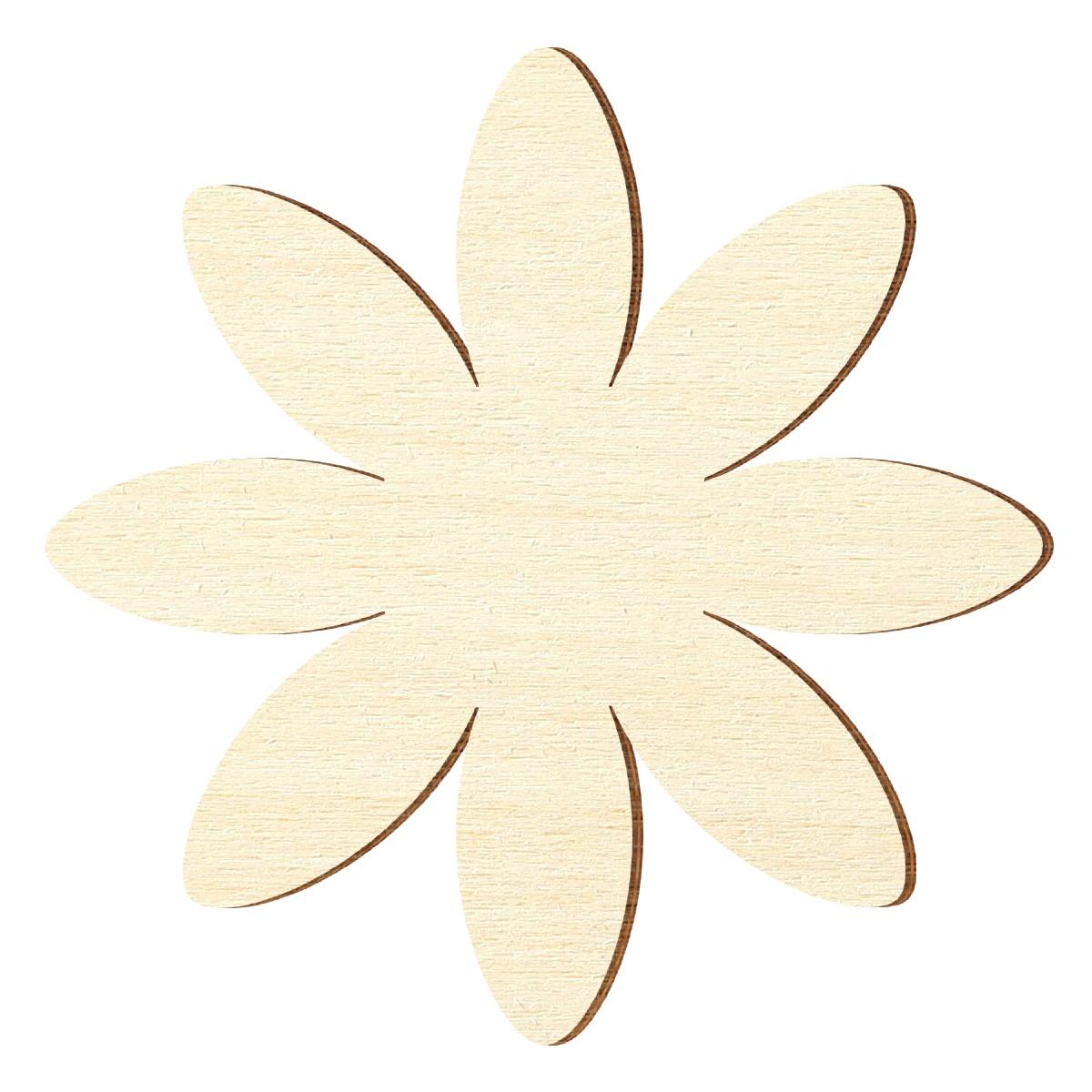 sperrholz zuschnitte margerite blume bl te gr enauswahl pappel 3mm ebay. Black Bedroom Furniture Sets. Home Design Ideas