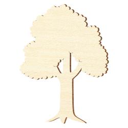 Sperrholz Zuschnitte - Laubbaum, Baum - Größenauswahl - Pappel 3mm