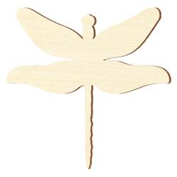 Sperrholz Zuschnitte - Libelle - Größenauswahl - Pappel 3mm