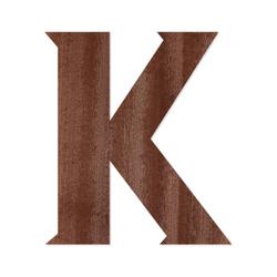 Holz-Furnier Buchstaben - Sea Garden - Schriftzug aus dunklem 0,6mm Echtholzfurnier - Größenauswahl – Bild 12