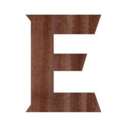 Holz-Furnier Buchstaben - Sea Garden - Schriftzug aus dunklem 0,6mm Echtholzfurnier - Größenauswahl – Bild 6