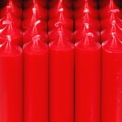 durchgefärbte Stabkerzen 100mm x Ø 22mm - hochgereinigte Kerzen mit rückstandsfreiem Abbrand – Bild 5