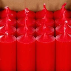 durchgefärbte Stabkerzen 180mm x Ø 28mm - hochgereinigte Kerzen mit rückstandsfreiem Abbrand – Bild 5