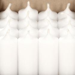 durchgefärbte Stabkerzen 180mm x Ø 28mm - hochgereinigte Kerzen mit rückstandsfreiem Abbrand – Bild 7