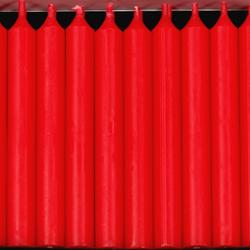 20er Pack durchgefärbte Baumkerzen - hochgereinigte Kerzen mit rückstandsfreiem Abbrand – Bild 5
