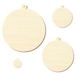 Sperrholz Zuschnitte - Baumkugel - Größenauswahl - Pappel 3mm – Bild 2