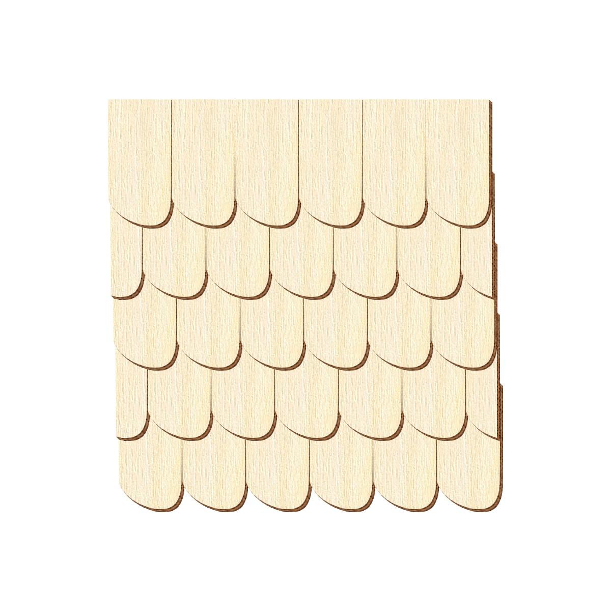 Echtholz Furnier dunkle Schindeln Schwarzwaldform rechts Pack mit:100 St/ück Schindelgr/ö/ße:80mm x 40mm Gr/ö/ßen- und Mengenauswahl