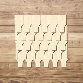 Sperrholz Schindeln - Rhönform - Größen- und Mengenauswahl