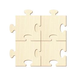 Holzpuzzle Zuschnitte - Holz Puzzle - Größenauswahl – Bild 3