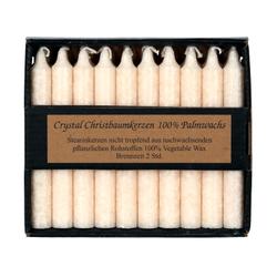20 durchgefärbte Stearin Baumkerzen Ø 13mm - Wachs Kerzen – Bild 2