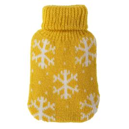 Taschenwärmer + Strickbezug - Flocken - Wärmflasche Handwärmer Wärmepad Firebag