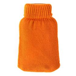 Taschenwärmer + Strickbezug - Blanko - Wärmflasche Handwärmer Wärmepad Firebag – Bild 3