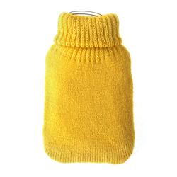 Taschenwärmer + Strickbezug - Blanko - Wärmflasche Handwärmer Wärmepad Firebag – Bild 1