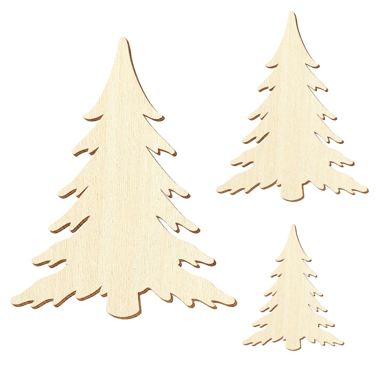 Sperrholz Zuschnitte Tanne Schnee Größenauswahl Pappel 3mm
