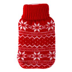 Taschenwärmer + Strickbezug - Norway - Wärmflasche Handwärmer Wärmepad Firebag – Bild 3