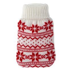 Taschenwärmer + Strickbezug - Norway - Wärmflasche Handwärmer Wärmepad Firebag – Bild 1